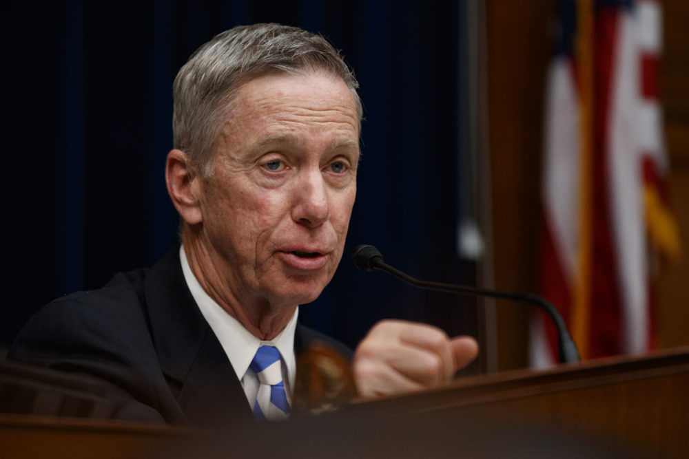 House Oversight and Reform National Security subcommittee Chairman Rep. Stephen Lynch speaks during a hearing on Capitol Hill on May 22, 2019. (Carolyn Kaster/AP)