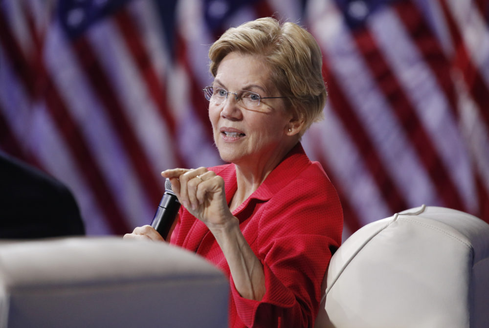 Elizabeth Warren (John Locher/AP)