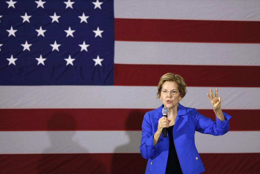 Democratic presidential candidate Sen. Elizabeth Warren, D-Mass. (Charlie Neibergall/AP)