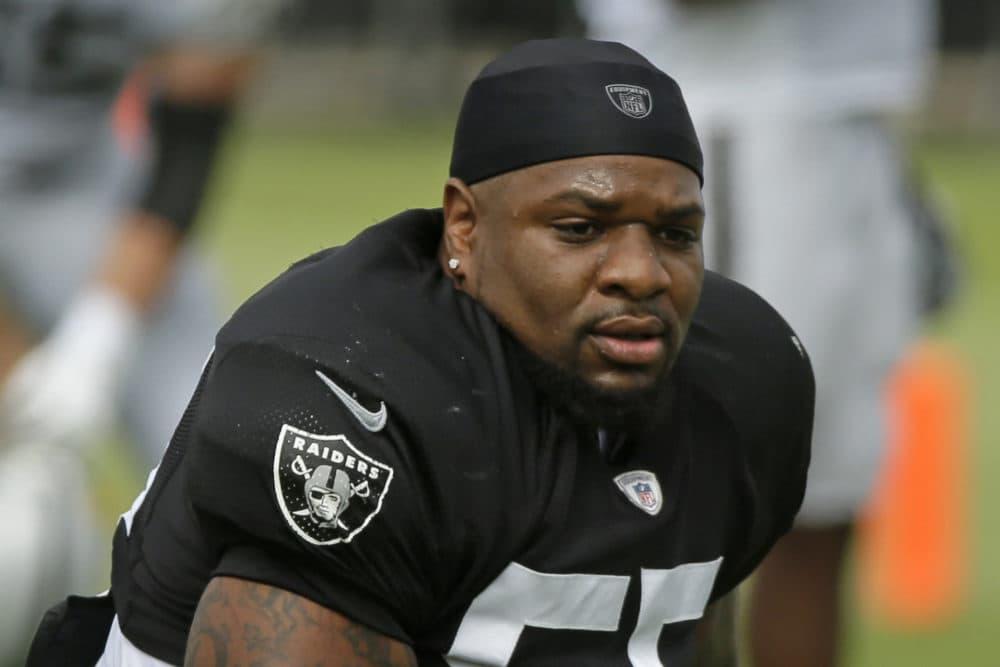 Oakland Raiders linebacker Vontaze Burfict. (Eric Risberg/AP)
