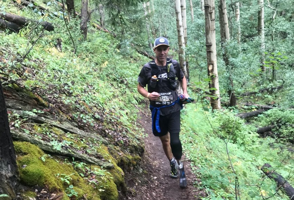 Ultrarunner Dave Mackey lost one of his legs after an accident in 2014. (Emma Roca)