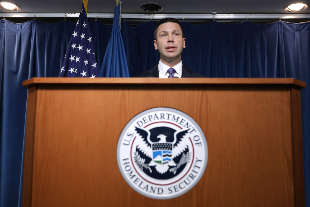 Former Department of Homeland Security Acting Secretary Kevin McAleenan on Aug. 21, 2019. (Chip Somodevilla/Getty Images)