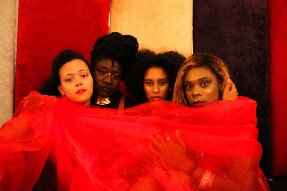 """Afro-futurism dares to synthesize spaces where Black people are at its center. This is the foundation that playwrights Porsha Olayiwola and Marshall """"Gripp"""" Gillson's newest theater experience, """"Spirit,"""" builds on. (Courtesy)"""