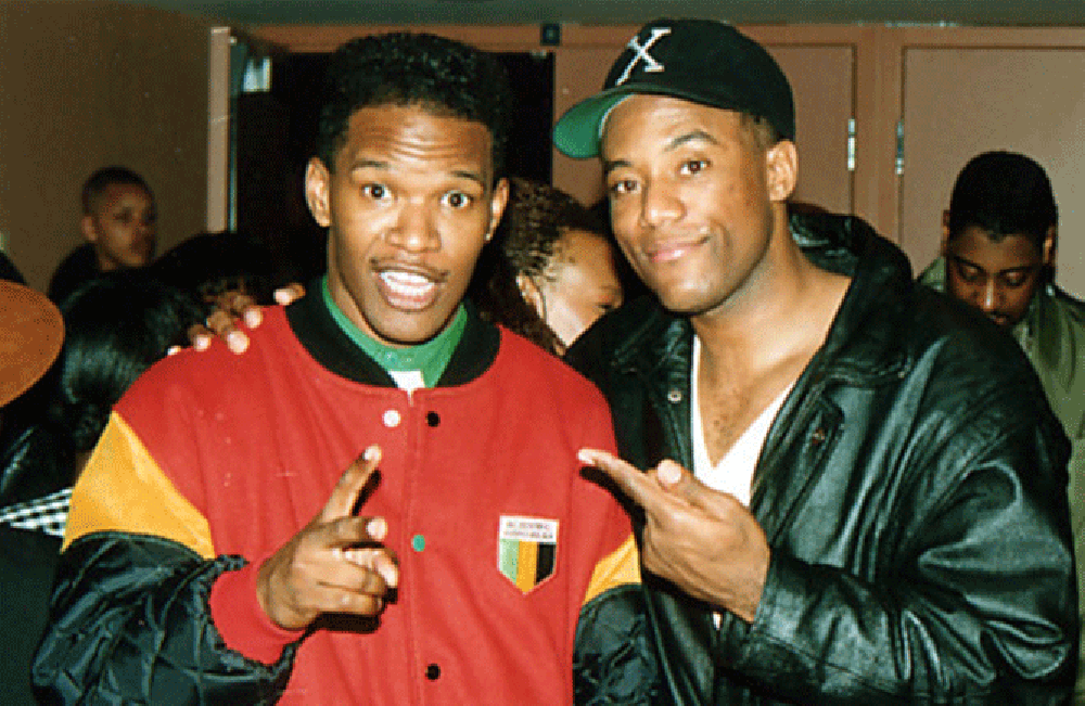 Jamie Foxx, 1991 (Courtesy of Cross Colours Archive)