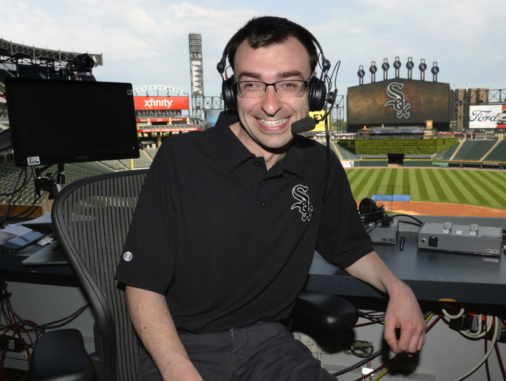 As a kid, Jason Benetti practiced his play-by-play skills while playing video games. (Ron Vesley)