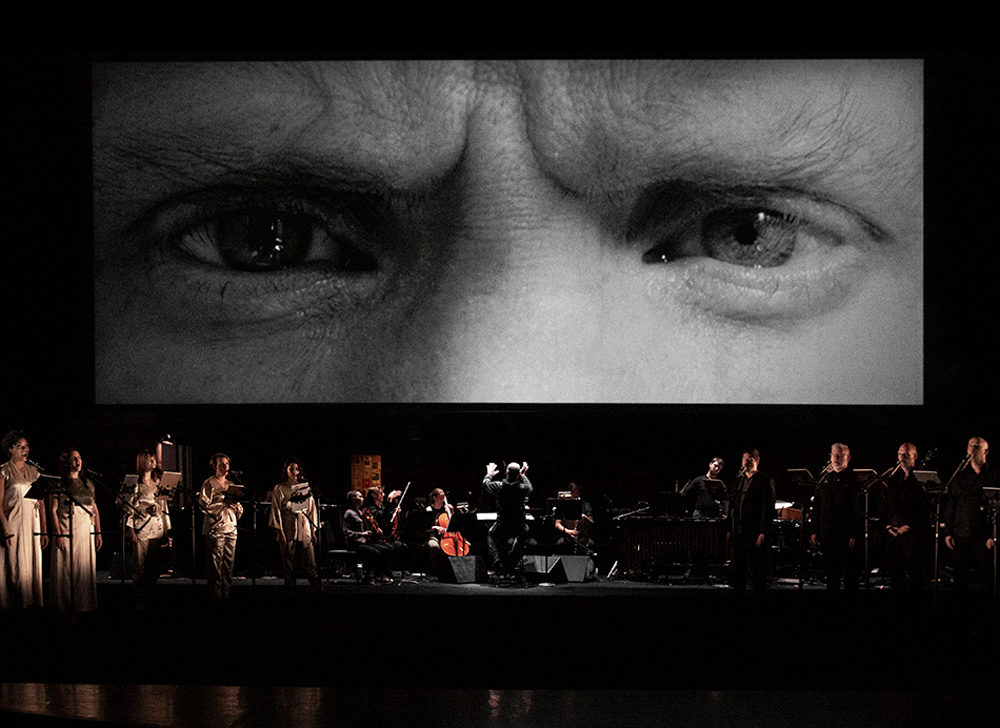 """Triptych (Eyes of One on Another)"" is an anti-biopic, convention-bending operatic experience produced by ArKtype and presented by ArtsEmerson and the Celebrity Series of Boston. (Courtesy ArtsEmerson)"