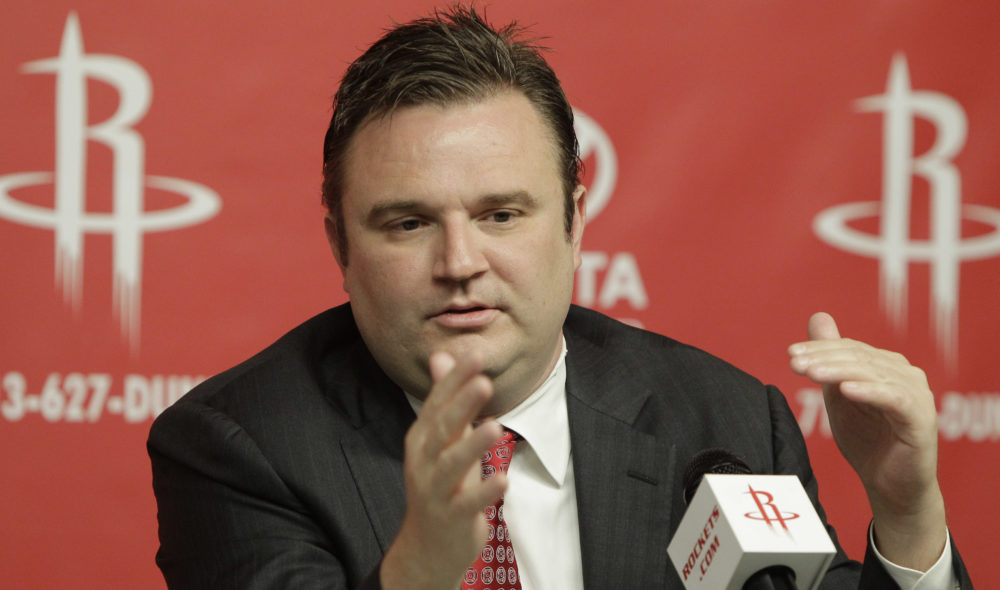 Houston Rockets general manager Daryl Morey, pictured in 2011, is the co-founder of MIT's annual Sports Analytics Conference. (Pat Sullivan/AP)