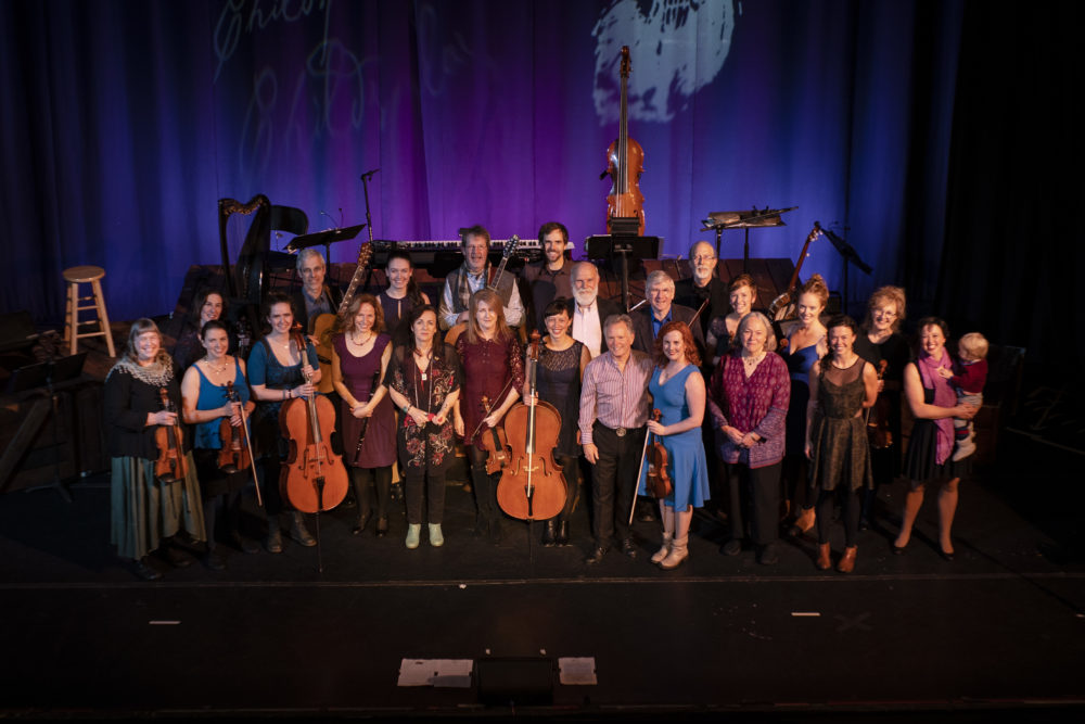 Childsplay, a world-class band of fiddlers that's made music for three decades, will hold its final performances Sunday, November 24. They'll be joined by artistic director Bob Childs, who made the all of the group's violins and violas (Courtesy of Dylan Ladds).