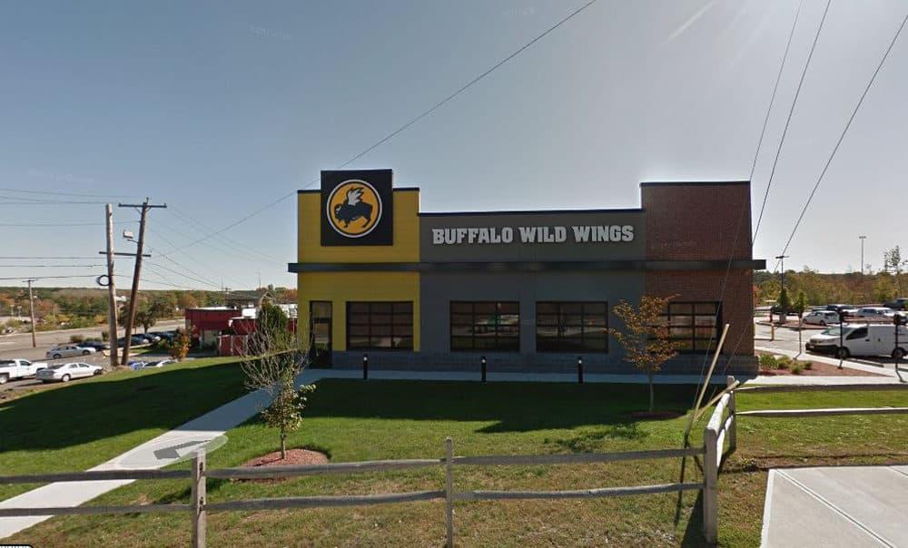Buffalo Wild Wings on South Avenue in Burlington, Mass. (Screenshot via Google Maps)