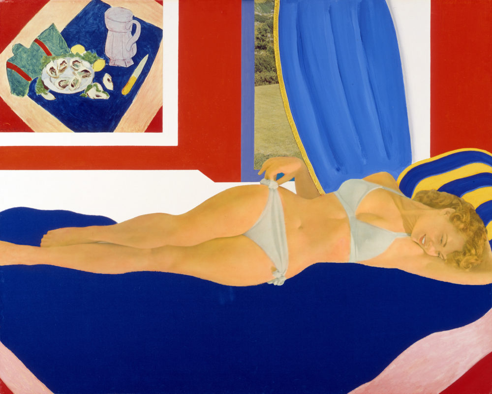 Tom Wesselmann, Great American Nude #36, 1962 (Courtesy Tom Wesselmann / Artists Rights Society)