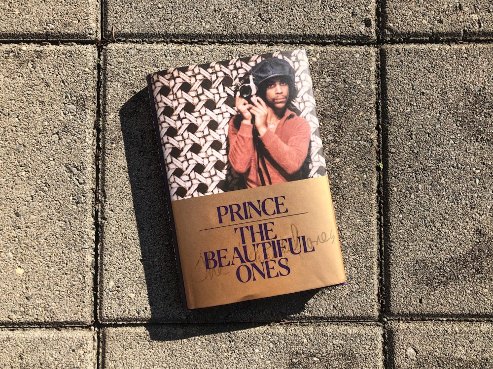 """Dan Piepenbring edited """"The Beautiful Ones."""" He was supposed to co-author the memoir with rock star Prince but ended up pulling it together from archival material and Prince's writings after the star's unexpected death in 2016. (Allison Hagan/Here & Now)"""