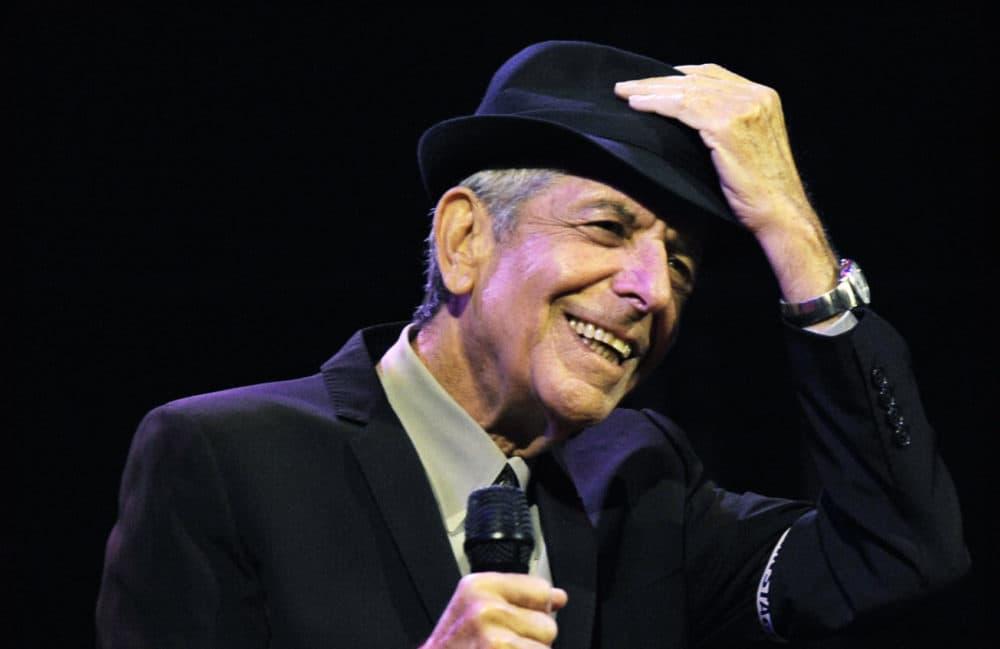 Leonard Cohen performs during Coachella in 2009. (Chris Pizzello/AP)
