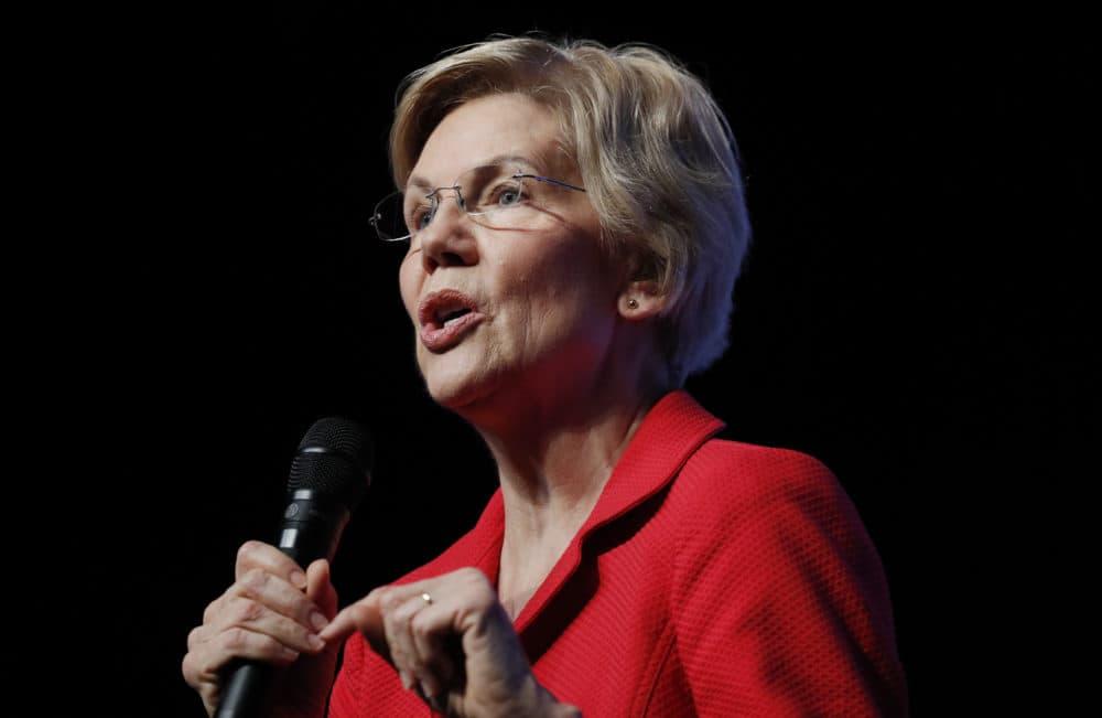 Democratic presidential candidate Sen. Elizabeth Warren (John Locher/AP)