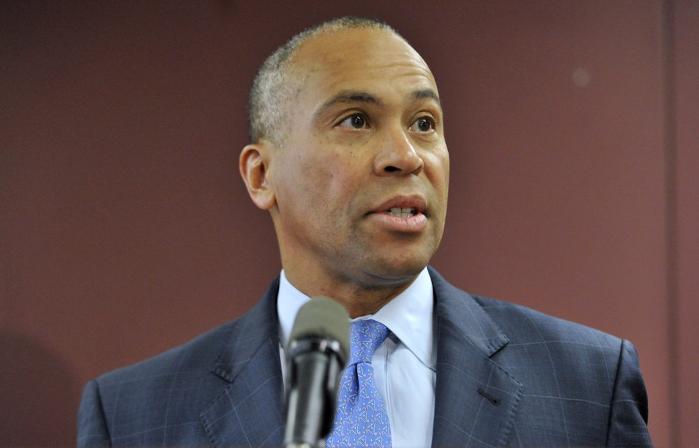 Former Massachusetts Gov. Deval Patrick announces presidential bid