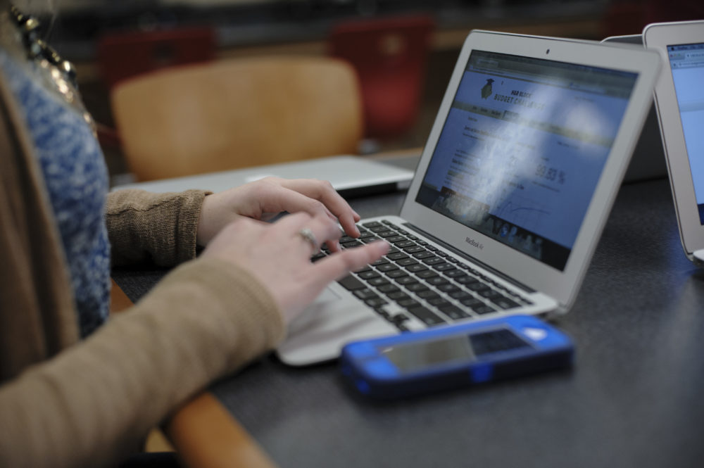 Abusive partners are perpetuating familiar forms of intimate partner violence using technology. (Jeff White/AP)