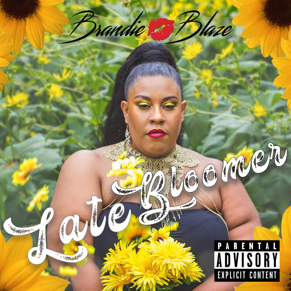 "The album art for Brandie Blaze's upcoming album ""Late Bloomer."" (Courtesy)"