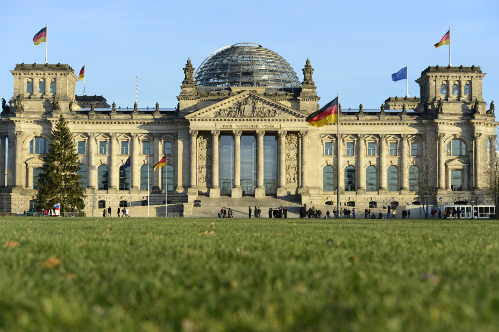 The Reichstag building in Berlin houses the German parliament Bundestag. (John MacDougall/AFP via Getty Images)