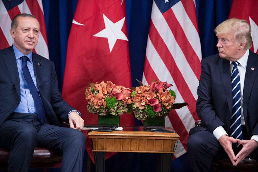 Trump, Erdogan to meet as thorny issues strain relations