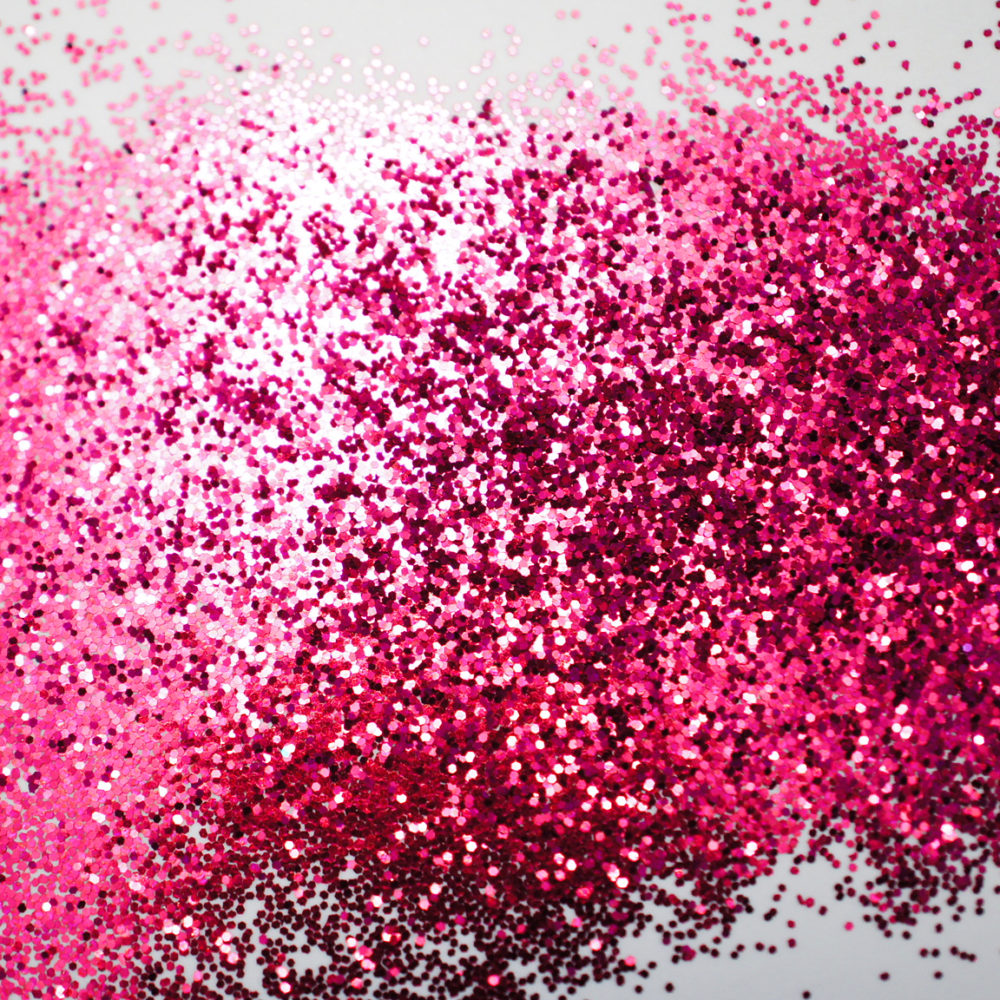 Glitter swatch (courtesy Joe Coburn and RJA Plastics)