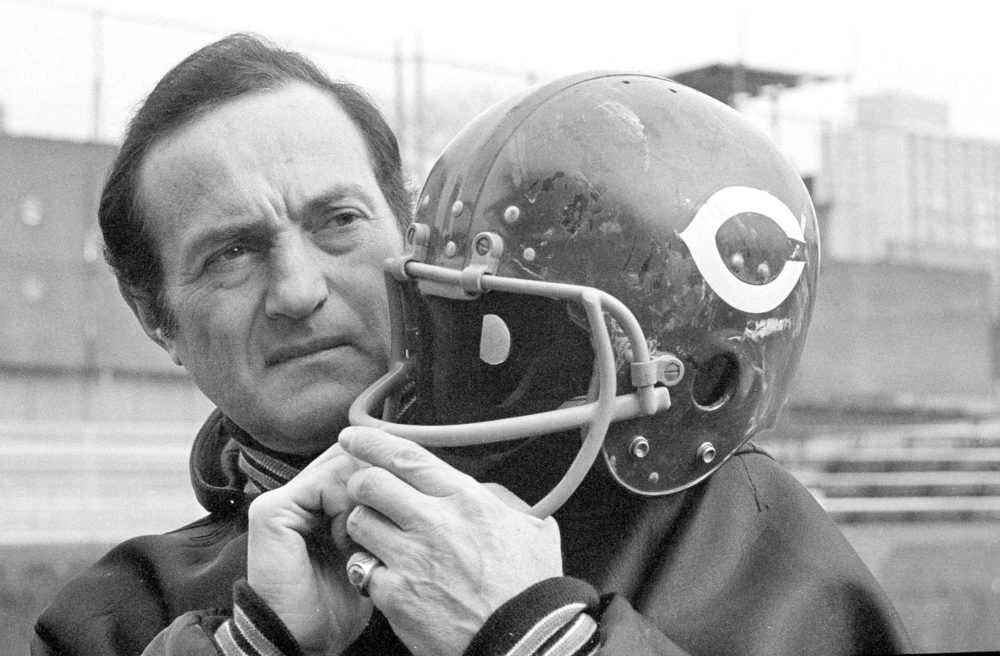Sid Luckman in 1969. (Edward Kitch/AP)