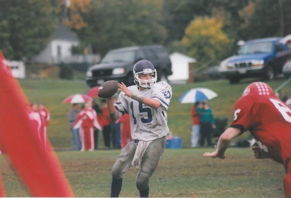 Josh Keefe's team went 0-23 during his three seasons as quarterback. (Courtesy Josh Keefe)