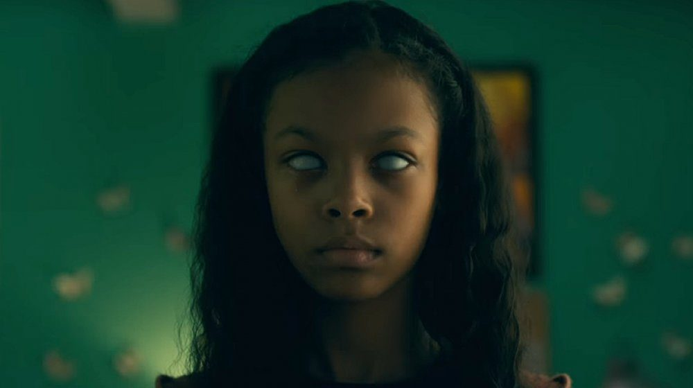 """Kyliegh Curran in the role of Abra Stone in """"Doctor Sleep"""" (Courtesy Jessica Miglio/Warner Bros.)"""