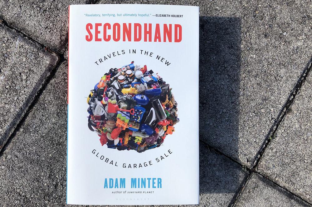 """""""Secondhand,"""" by Adam Minter. (Alex Schroeder/On Point)"""