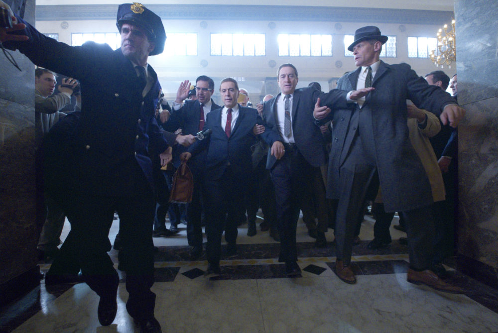 "A still from Martin Scorsese's ""The Irishman."" (Courtesy Niko Tavernise/Netflix)"