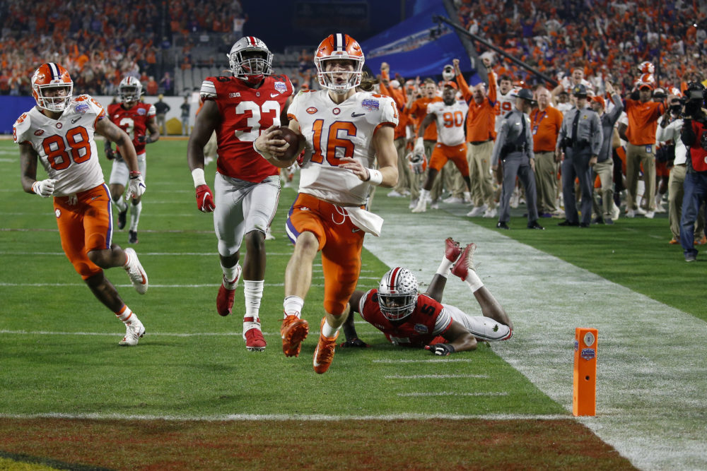 Clemson has a chance to win its third college football championship in four years. (Ross D. Franklin/AP)