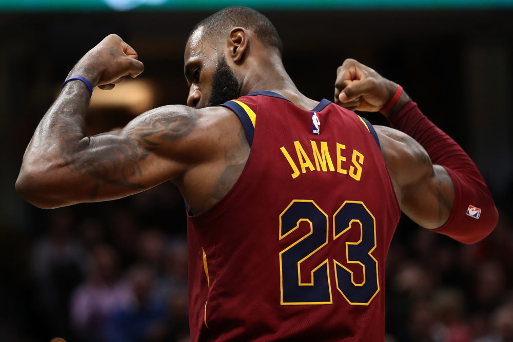 LeBron James is among the athletes who headlined the 2010s. But there's an athlete of the decade that you may be forgetting about... (Gregory Shamus/Getty Images)