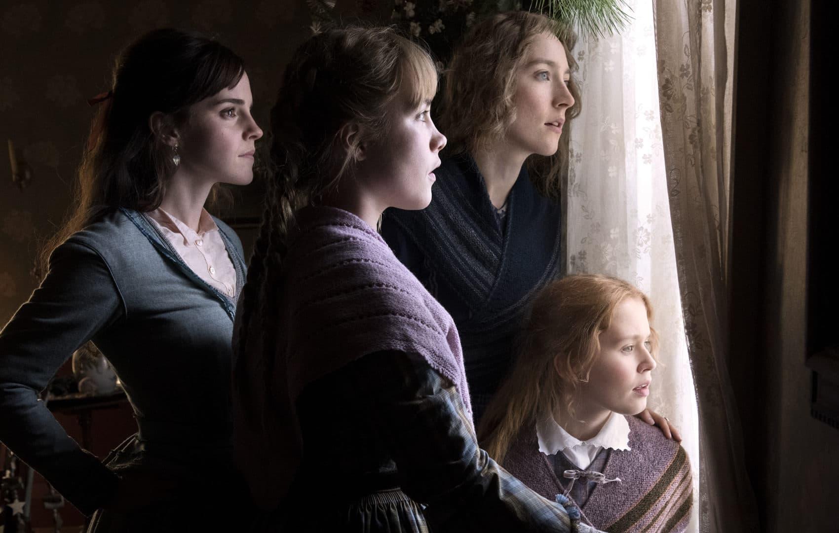 """Emma Watson, Saoirse Ronan, Eliza Scanlen and Florence Pugh in """"Little Women."""" (Courtesy Wilson Webb/CTMG)"""