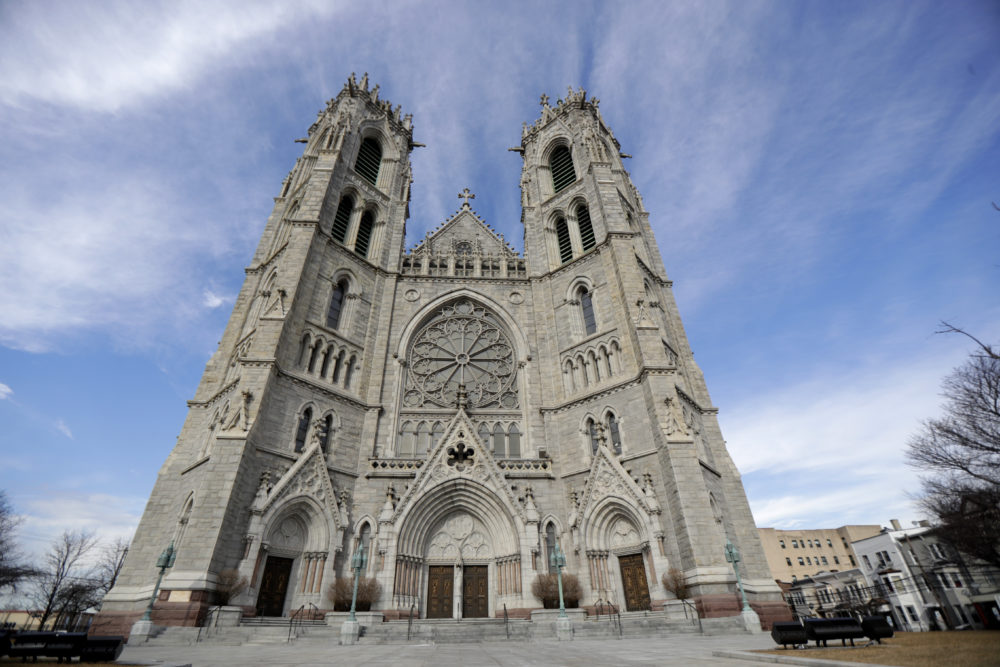 A general view of the Cathedral Basilica of the Sacred Heart on Feb. 17 in Newark, N.J. (Julio Cortez/AP)