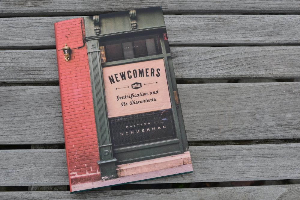 """Newcomers: Gentrification And Its Discontents"" by Matthew Schuerman. (Allison Hagan/Here & Now)"