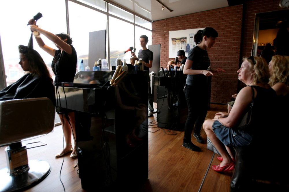 Hairstylists can be lifesavers in early melanoma detection. (Seth Wenig/AP)