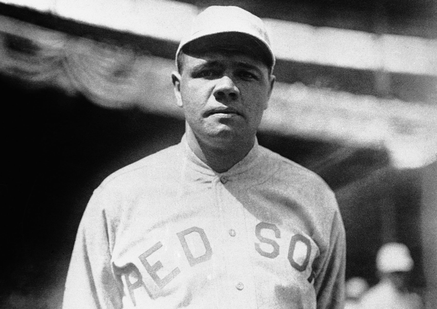 Babe Ruth, pictured in 1919, his final season with the Red Sox (AP Photo)