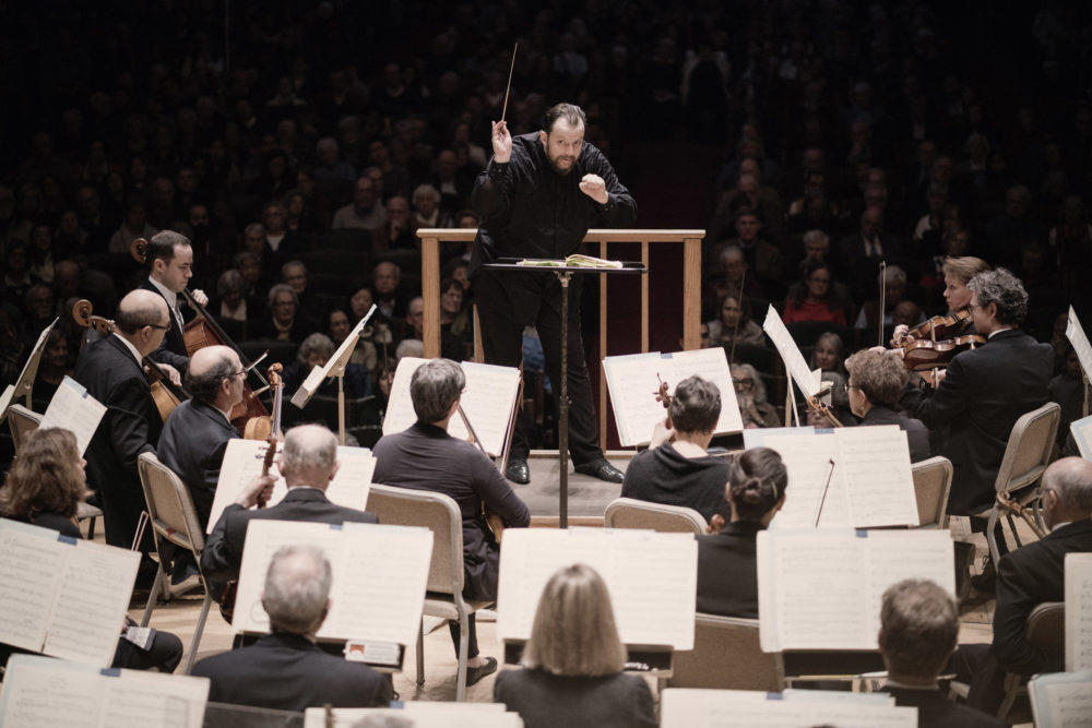 Boston Symphony Orchestra conductor Andris Nelsons. (Courtesy Marco Borggreve/BSO)