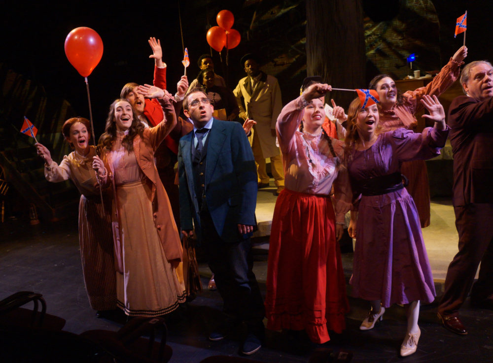 "The cast of the Moonbox Productions' staging of ""Parade."" (Courtesy Sharman Altshuler)"