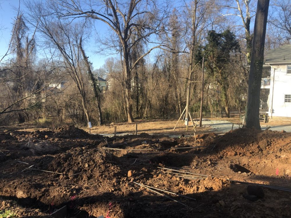 Councilwoman Jillian Johnson is building a two-unit duplex on her own property for low-income families. The project is still in its beginning stages. (Photo courtesy of Johnson)
