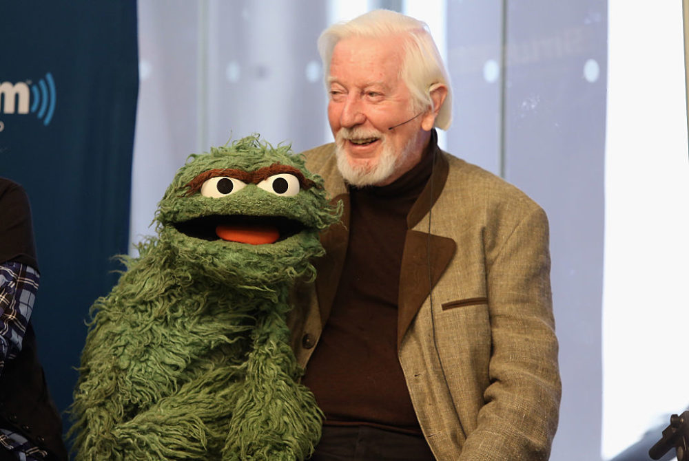 Puppeteer Caroll Spinney died Sunday at the age of 85. (Robin Marchant/Getty Images for SiriusXM)