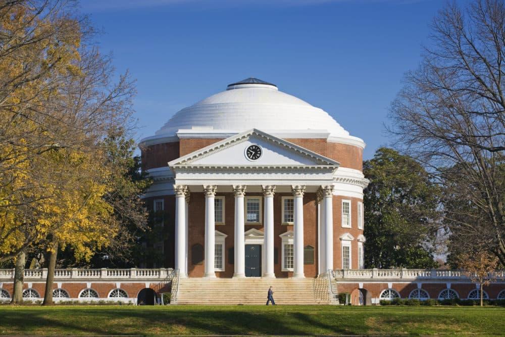 The Thomas Jefferson Rotunda at the University of Virginia in Charlottesville, Virginia. (Philip Scalia / Alamy Stock Photo)