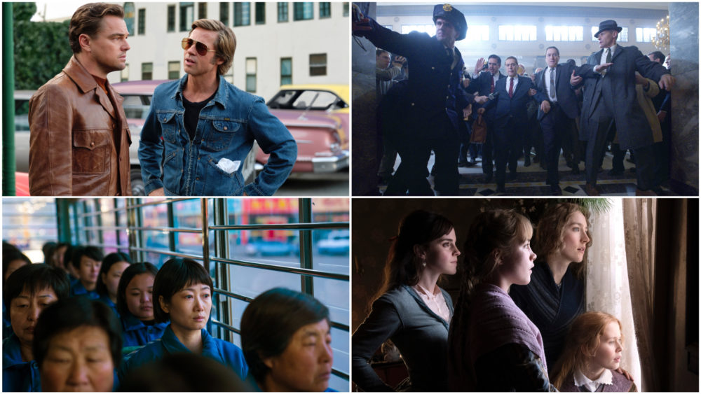 "Critic Sean Burns reviews his favorite films of the year, including ""Once Upon A Time… In Hollywood,"" ""The Irishman,"" ""Ash Is Purest White"" and ""Little Women."" (Courtesy)"