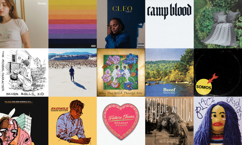 The best local albums of 2019. (Courtesy of the artists)