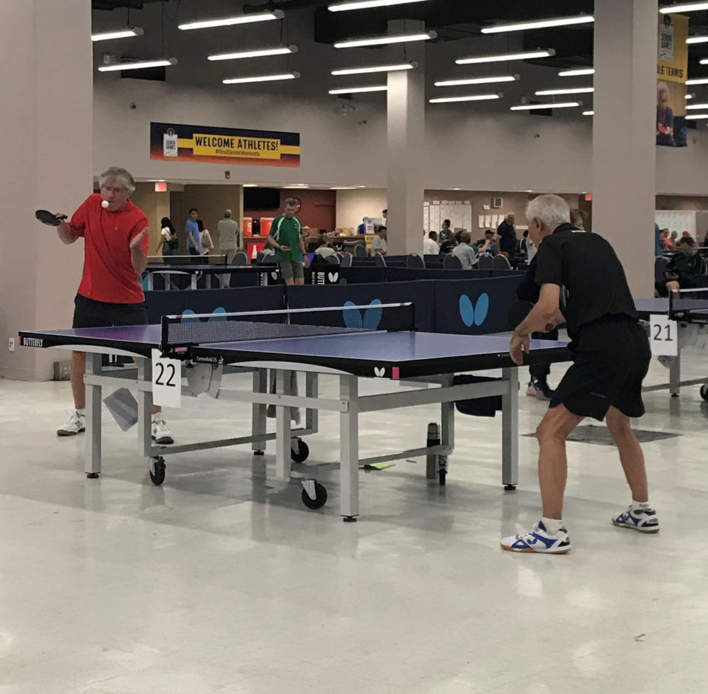 Lessons From Watching Dad Find Ping Pong In His 70s