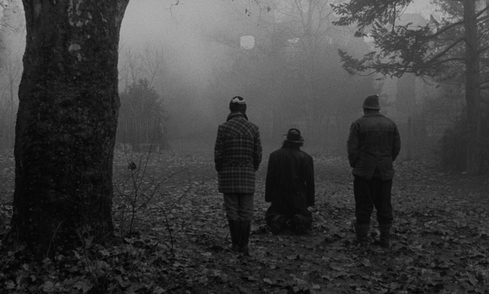 "A still from director Béla Tarr's ""Sátántangó."" (Courtesy Arbelos Films)"