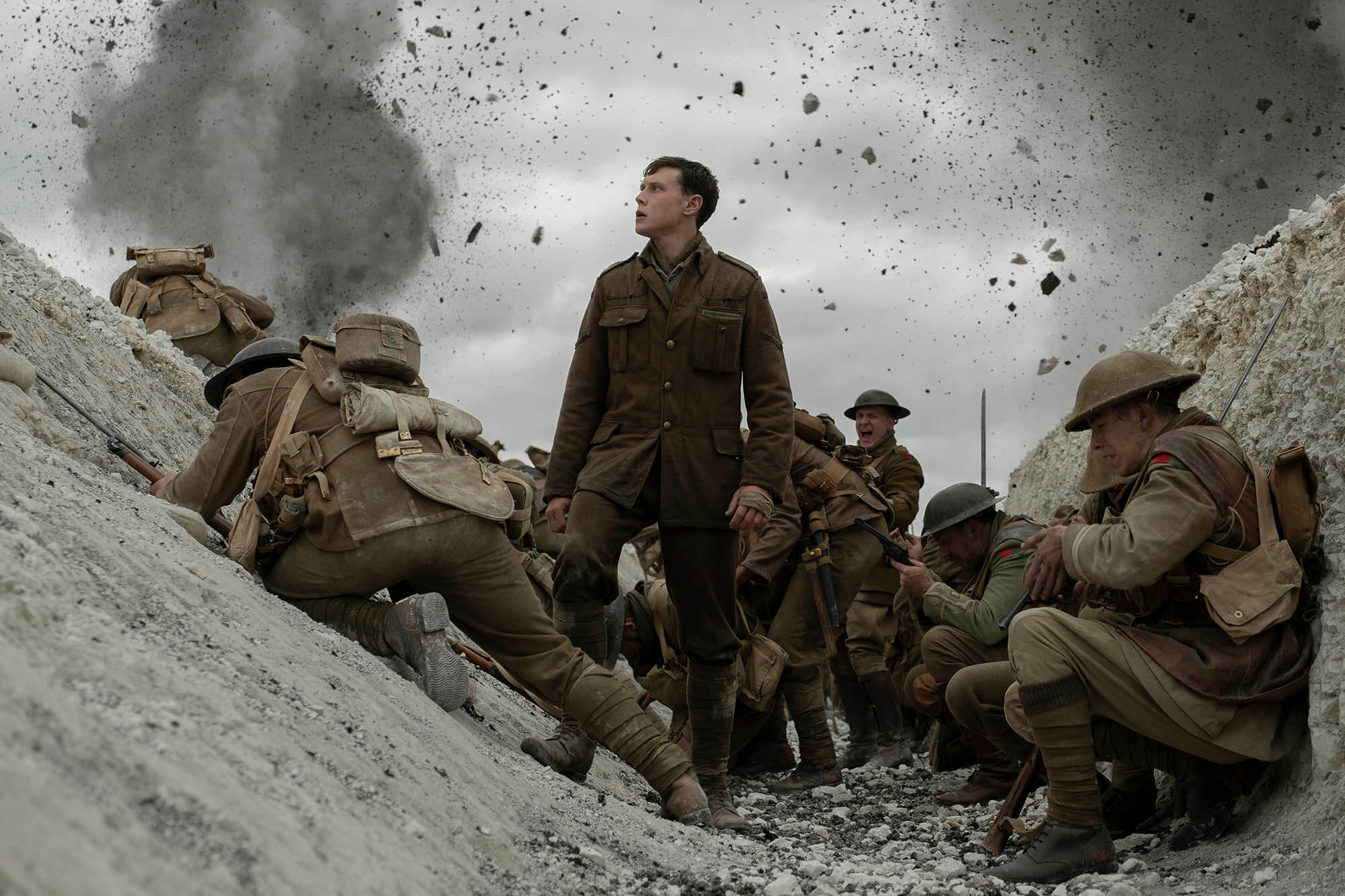 "A still from director Sam Mendes' ""1917."" (Courtesy Universal Pictures)"