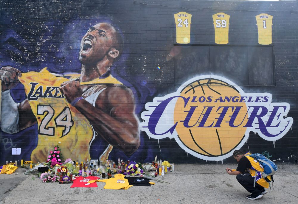 NBA legend Kobe Bryant died in a helicopter crash on Sunday in Calabasas, Calif. (Frederic J. Brown/AFP/Getty Images)