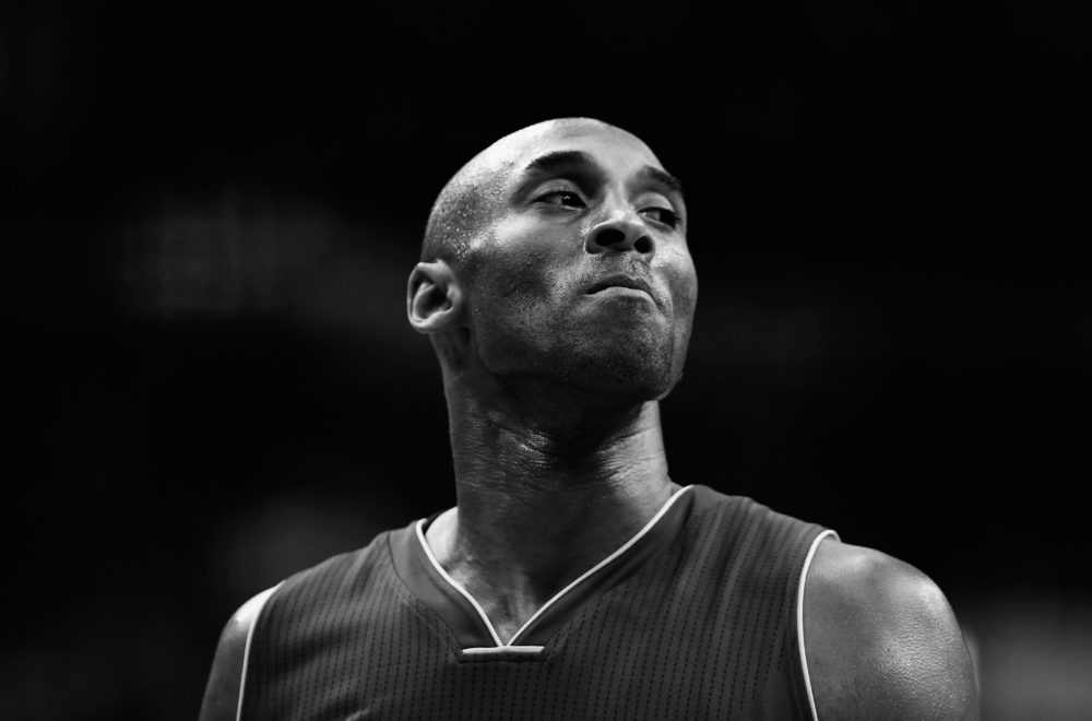 NBA legend Kobe Bryant was among the nine killed in Sunday's helicopter crash. (Rob Carr/Getty Images)