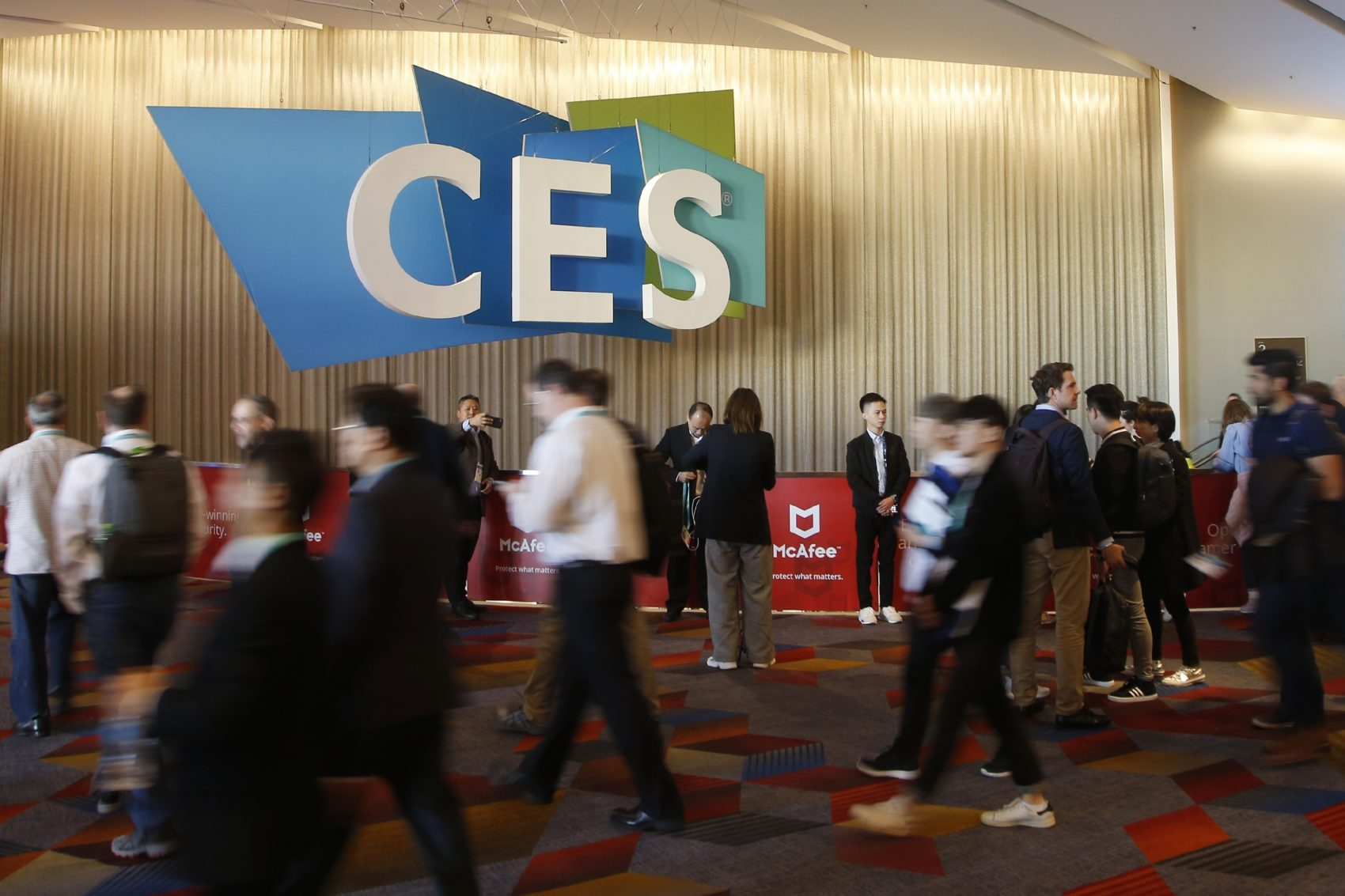 The Consumer Electronics Show is a completely overwhelming experience. But Project CITRUS can't get a bead on the future of radio if we don't know what the future — and, in particular, the future of technology — holds. (Ross D. Franklin/AP)