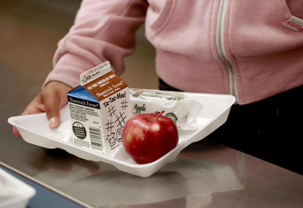 "A bill to make ""breakfast-after-the-bell"" a requirement at some public schools is scheduled for a vote by the state Senate Thursday. (Matt York/AP)"