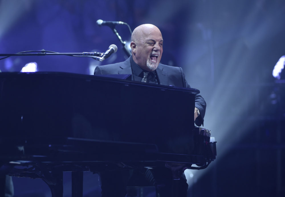 Billy Joel performs during his 100th lifetime performance at Madison Square Garden on July 18, 2018, in New York. (Evan Agostini/Invision/AP)